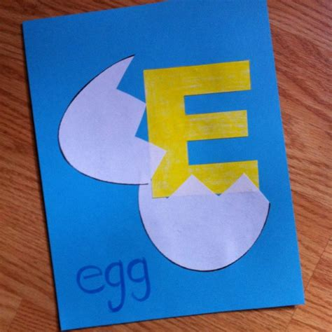 letters for craft projects best 25 letter e craft ideas on letter e