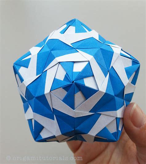 tutorial origami ratibor kusudama tutorial origami tutorials