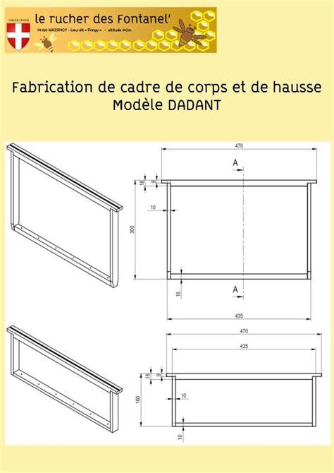 fabrication de cadre dadant le de rucher fontanel