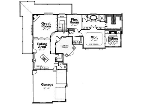 l shaped ranch house plans best 25 l shaped house ideas on