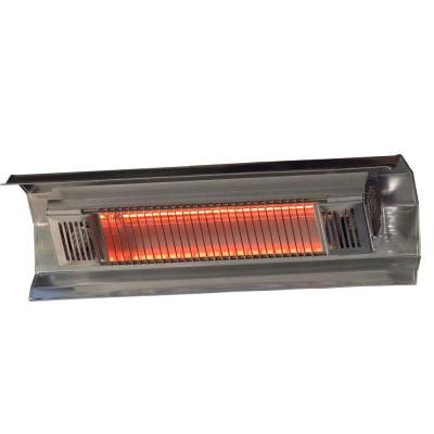 electric infrared patio heaters sense 1 500 watt stainless steel wall mounted