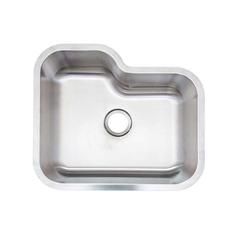 glacier bay stainless steel kitchen sink glacier bay undermount stainless steel 16 in single bowl
