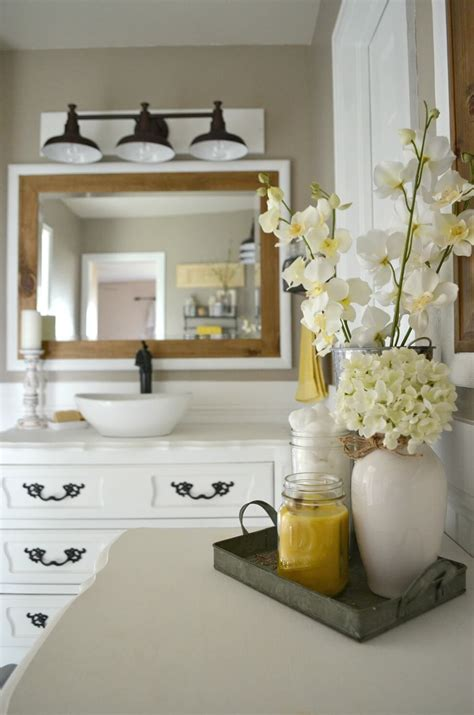 bathroom decorating accessories and ideas 36 best farmhouse bathroom design and decor ideas for 2018