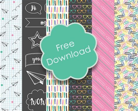 free craft papers to free printable back to school papers scrap booking