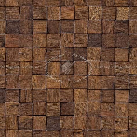 Round Pool Deck by Wood Wall Panels Texture Seamless 04582