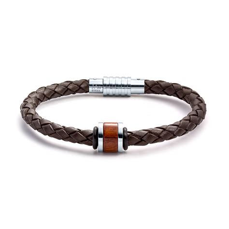leather jewelry aagaard mens jewelry leather bracelet no 1232 landing