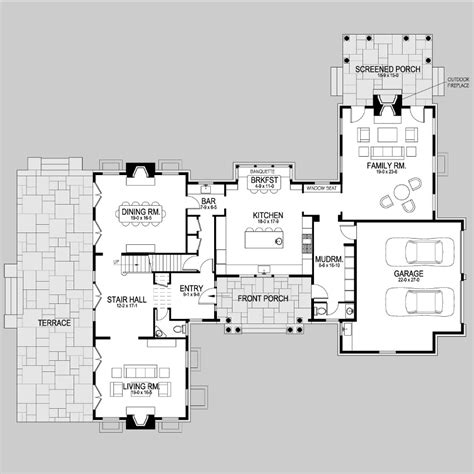 shingle style floor plans wheeler bay shingle style home plans by david neff