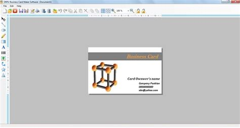 card software for mac business card design software for mac