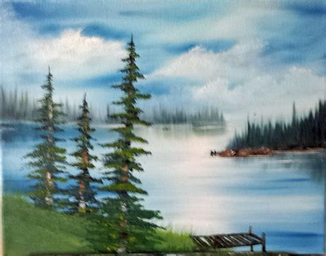 bob ross painting lake 47 best images about my painting bob ross and other