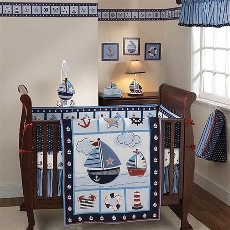 baby boy nautical crib bedding baby boy navy blue sailboat sea nautical anchor crib