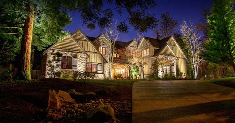 houston landscape lighting design