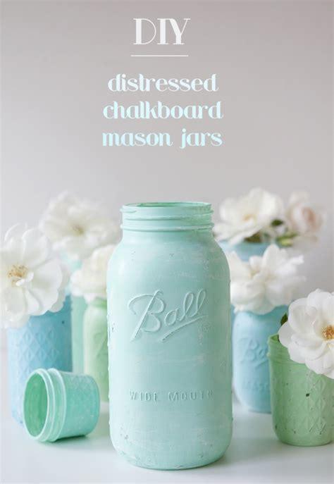 diy chalk paint martha stewart how to make distressed chalkboard jars jars