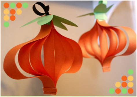 paper pumpkin craft summer crafty ideas for tips and tutorials page 3