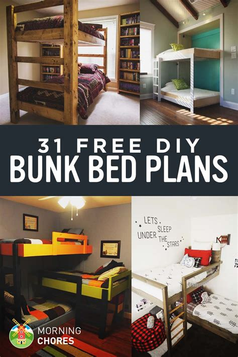 diy bunk beds 31 diy bunk bed plans ideas that will save a lot of