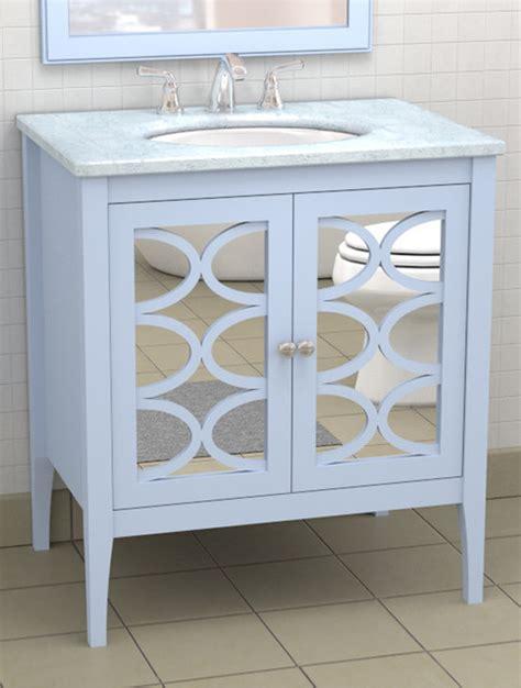 mirrored bathroom vanity cabinets vanity with mirrored doors traditional atlanta by