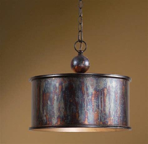 copper kitchen light fixtures tuscan farmhouse antique copper kitchen chandelier metal