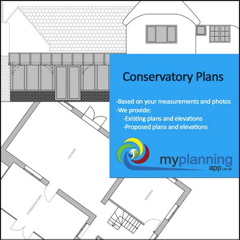 conservatory floor plans architectural drawings for your conservatory planning