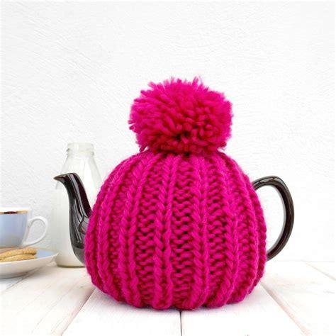 tea cozy knit six cup retro knit tea cosy by chi chi moi