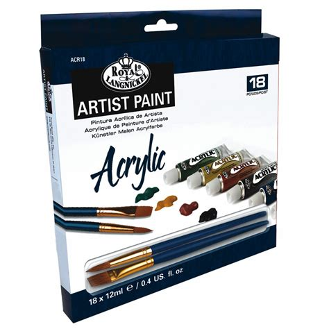 acrylic painting set acrylic artist paint set royal langnickel from