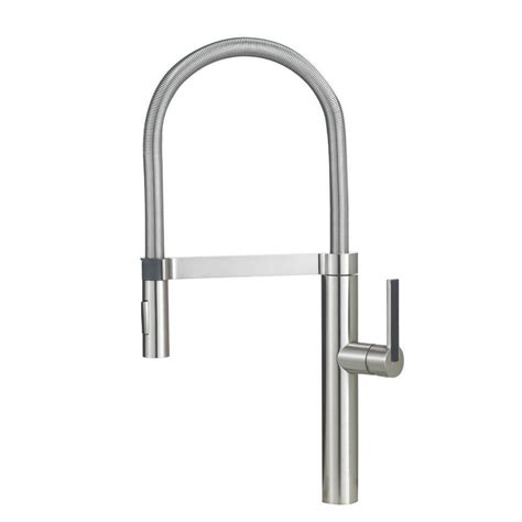 home depot kitchen faucets pull nickel pull faucets kitchen faucets the home depot