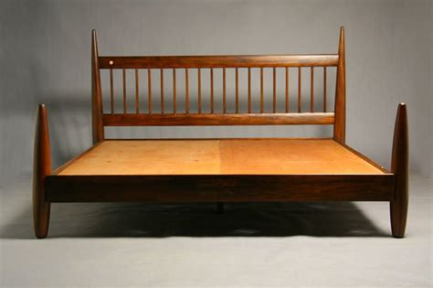 king size wood bed frame by sergio rodrigues at 1stdibs