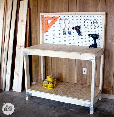Outdoor Bench With Storage Plans by Diy Workbench With Simpson Strong Tie Workbench Kit