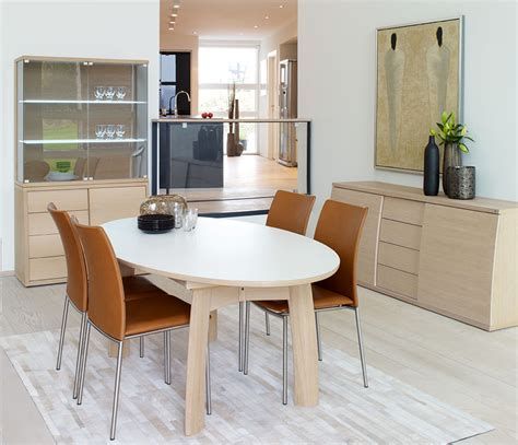White Oval Dining Table Uk by Oval Modern Dining Room Table Skovby A17071 Wharfside