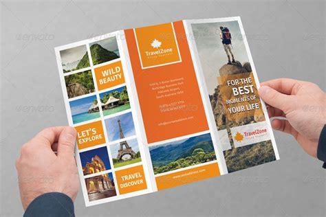 travel brochure design tri fold best travel
