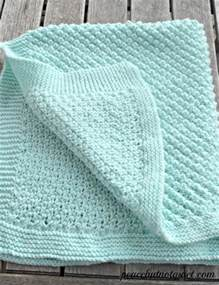easy knit baby blanket easy knitting patterns