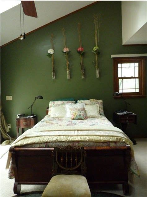 green bedroom ideas 1000 ideas about green walls on green