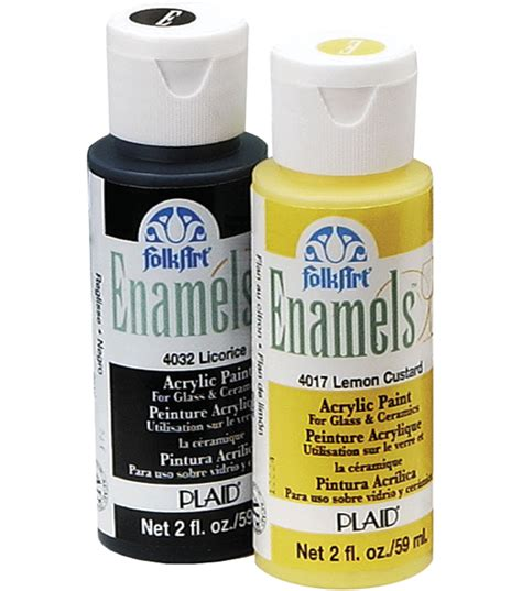 Folkart Enamel Acrylic Paint At Joann