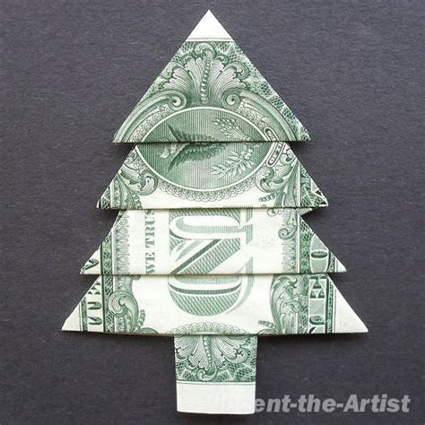 five dollar bill origami tree money origami plant by vincent the artist