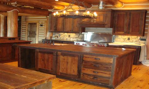 kitchen cabinets rustic modern furniture rustic barnwood kitchen cabinets
