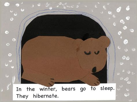 hibernation crafts for hibernating craft preschool ideas