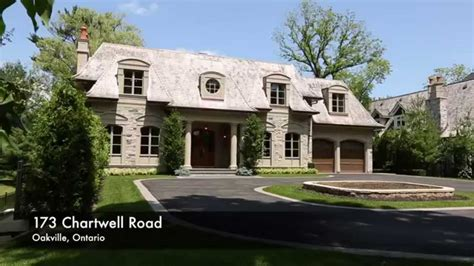 luxury home builders oakville 173 chartwell rd oakville on for sale mansion luxury