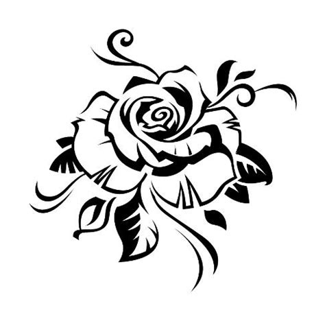 tribal rose tattoo pictures tattoo collection