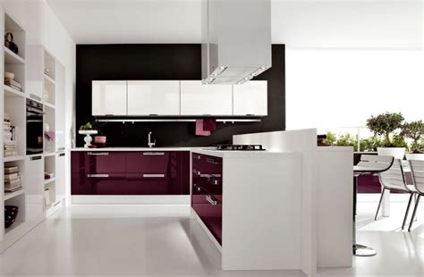 best contemporary kitchen designs 23 inspirational purple interior designs you must see