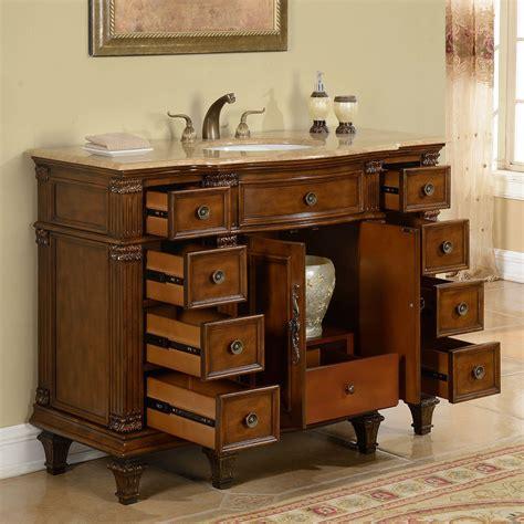 single sink bathroom vanity accord 48 inch antique single white sink bathroom vanity