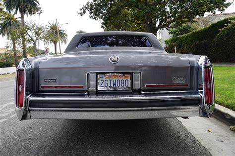 Torrance Cadillac by 1987 Cadillac Brougham D Elegance Sedan Stock 341 For