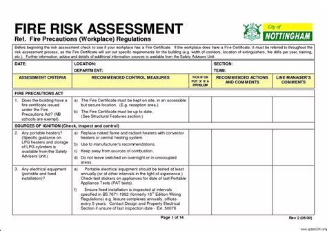 risk assessment risk assessment template template update234