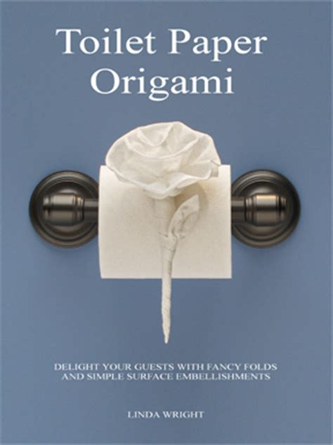 toilet paper origami tag toilet paper origami