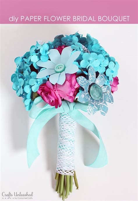 paper flower bouquet craft how to make a paper flower bridal bouquet