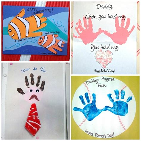 fathers day craft ideas for to make s day handprint gift ideas from crafty morning