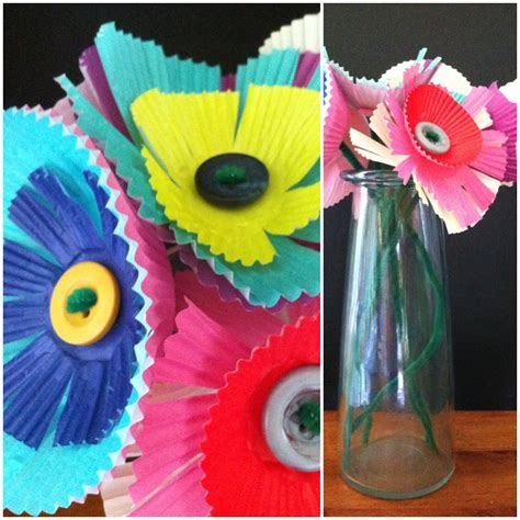 simple crafts for ages 3 5 a childhood list 118 baking cup paper flowers
