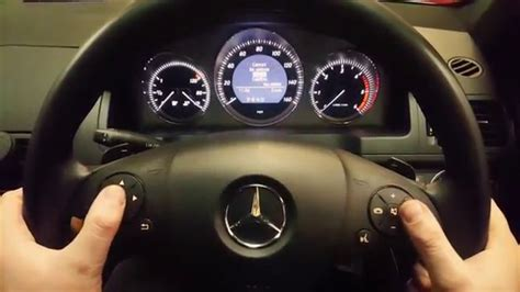 Mercedes C Service by Mercedes C Class Service Reset