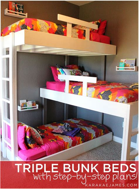 3 bunk beds best 25 3 bunk beds ideas on bunk beds