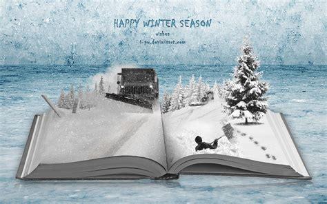 picture books in winter happy winter season winter book by wellgraphic on deviantart