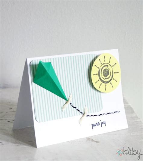 origami paper kites 42 best images about kite cards on stitching