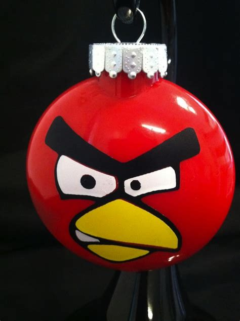 angry birds ornament make for a thrilling decor