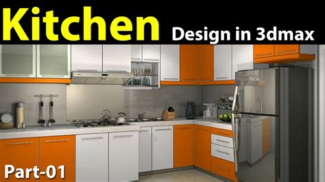 3d kitchen designer free kitchen design in 3d max part 01